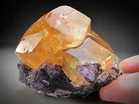 Calcite Crystals, Denton Mine, Illinois