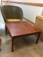 Retro Vintage 1970's Australian Made Square Teak Coffee Lamp Corner Table