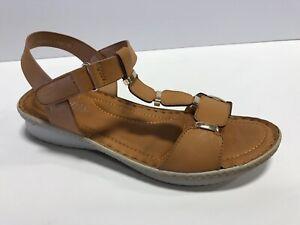 Spring Step, Patrizia, Hainilla, Brown, Sandals, Women's Size 8.5M EUR39