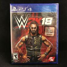 WWE 2K18 (Sony PlayStation 4, 2017) BRAND NEW/ Region Free