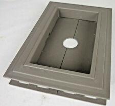 Recessed Split Mount Vinyl Mounting Block Almond Z15884 #7gy