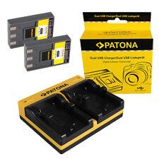 Original VHBW ® cargador para Minolta Dimage g400 g500 g530 g600 G