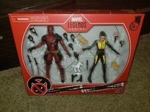 "Marvel Legends 6"" Deadpool & Negasonic Teenage Warhead X-Men Movie 2 Pack NISB"