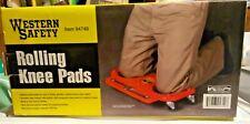 Rolling Knee pad with Wheels, Built-in Foam Padded Kneeler Half Creeper Platform