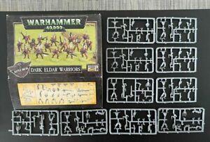 GW Warhammer 40000 40K Dark Eldar Warriors Classic 3RD Edition NEW on Sprue X 1