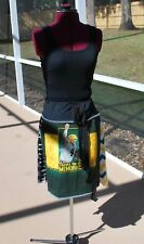 Brett Farve Tie Waist Bohemian Upcycled Skirt with Yoga Band NEW Size L/XL