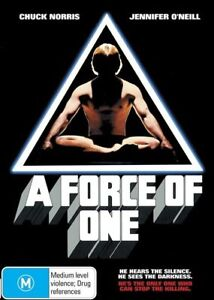 A Force Of One (Chuck Norris) DVD BRAND NEW SEALED 🔥🔥