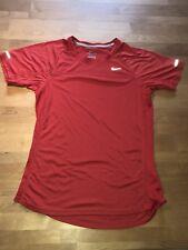 Nike Running Dry Fit Shortsleeve, Rundhals, Mesh - T-Shirt Damen - Blau - GR. S