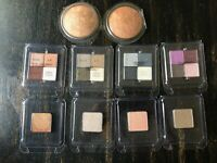 VICTORIA'S SECRET EYE SHADOW & BRONZER MAKEUP LOT! 4 QUADS 4 SINGLES 2 BRONZERS