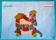 Playmobil Instructions Booklet For Set 3151 Viking Longhouse, 30 89 7800
