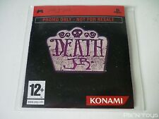 "Sony PSP / Jeu Death JR / Version Promo ""Not For Resale"""