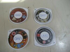 4 Mixed PSP Game - Sony PSP