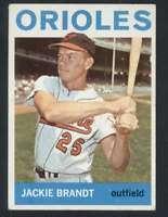 1964 Topps #399 Jackie Brandt VG/VGEX Orioles 34547