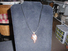 "Park Lane Jewelry,""ICING"" Necklace Pink Crystals, Copper Color,  NEW"