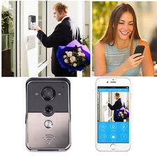 WiFi Smart Doorbell Video Door Phone Doorbell HD 2MP Home Security Motion Detect