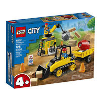 LEGO® City Construction Bulldozer Building Set 60252 NEW