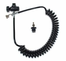Shop4Paintball Remote Line Coil - Quick Disconnect -Gauge- Paintball Gun Adapter