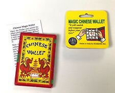 MAGIC CHINESE WALLET Vanishing Coin Swap Himber Magic Trick Change Switch Money