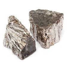 100g Bismuth Metal  Ingot Chunk 99.99% Pure Crystals Geodes For Bismuth Crystals