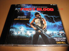 FIRST BLOOD (rambo) soundtrack CD score INTRADA dan hill JERRY GOLDSMITH stallon