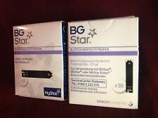 BG Star Blutzucker Teststreifen 100 Stück von Sonofi Neu bis 8/19 haltbar