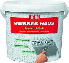Lugato Weisses Haus Kunstharz Rollputz 0,5mm 20kg lösemittelfrei