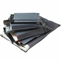 """1000 STRONG POLY BAGS - 10"""" x 14"""" MAILING POSTAGE POSTAL QUALITY SELF SEAL GREY"""