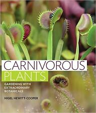 Carnivorous Plants-NEW BOOK- FROM AND SIGNED BY AUTHOR