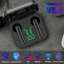 Wireless Bluetooth Earphone True Wireless Waterproof Touch Control Charger case