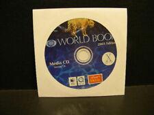 Macintosh Os-X Apple World Book 2003 Edition Media Cd Computer Software 7.0