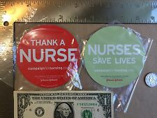 Nurses Save Lives + Thank A Nurse Magnets. Free Shipping!