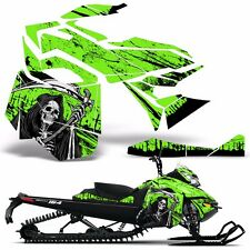 Decal Graphic Kit Ski Doo Rev XM Skidoo Sled Snowmobile Wrap Decal 13-14 REAP G