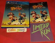 PANG ADVENTURES SONY PS4 VERSION US LIMITED RUN #47  + FLYERS NEUF NEW SEALED
