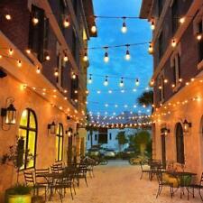 30m Garten LED Lichterkette Außen S14 Lichterkette Glühbirne  mit 30 LED Birnen