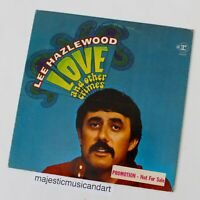 ORIGINAL 1968 PROMO LEE HAZLEWOOD LOVE AND OTHER CRIME MASTERPIECE VINYL LP RARE