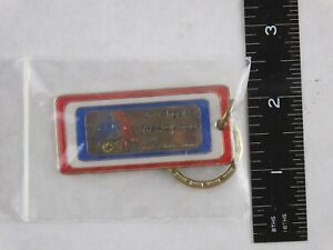 1984 LA Olympic Keychain Keyring NOS New in packaging