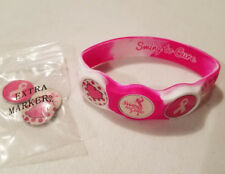 Wrist Skins Golf Ball Marker Bracelet,Pink,Swing to Cure,Breast Cancer,Small