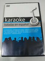 Karaoke Ballate IN Spagnolo Luis Miguel Arjona David Bisbal - Regione All DVD