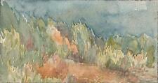 MARCUS ADAMS Watercolour Painting GRASSY DUNES c1930 IMPRESSIONIST