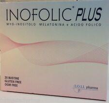 INOFOLIC PLUS 20 Buste - Integratore con Inositolo Ac.Folico Melatonina