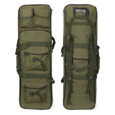 "Tactical 39"" Case Bag Padded Fishing Rod One/Two Carbine Rifle Weapons Gun"