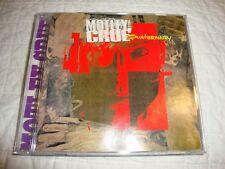Motley Crue Quaternary cd Signed by Tommy Lee & Nikki Sixx