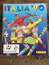 BEAUTIFUL panini Italia 90 world cup Complete album WC 1990