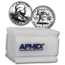 90% Silver Franklin Half Dollars - $10 Face Value Roll - 90 Percent Silver