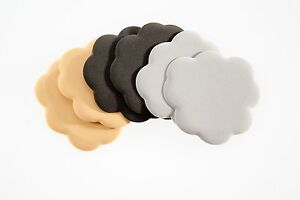 Foot Petals Tip Toes - Ball of Foot Shoe Pads - Insole Cushion Inserts - 3 PAIRS