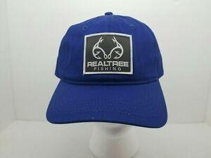 New Realtree Fishing Hat Trucker Baseball Cap Blue
