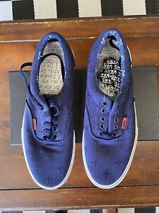 Vans Syndicate x Suicidal Tendencies Limited Edition Blue Shoes Era Size 11.5