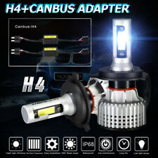 NOVSIGHT H4 9003 72W 10000LM LED Headlight Bulb High/Low Beam 6500K With Canbus