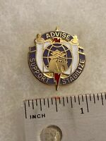 Authentic US Army 95th Civil Affairs Group Unit DI DUI Crest Insignia G23
