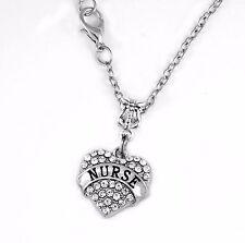 Nurse Necklace  Gift chain RN Present Nursing Pendent Nurse Jewelry BSN